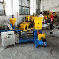 鱼饲料生产机械 水产饲料加工设备生产线 直销双螺杆膨化机
