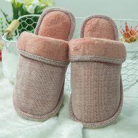 棉拖鞋新款冬季韩版时尚四季毛毛拖鞋 女士家居保暖拖鞋工厂直供