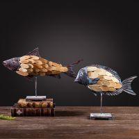 成本清仓 售完无补 客厅酒吧咖啡厅店铺样板房动物鱼摆件工艺品