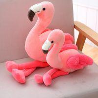 火烈鸟ins网红公仔生日礼物少女心娃娃玩偶粉红装饰抱枕毛绒玩具