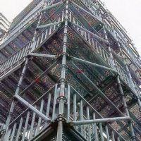 广州神丰 脚手架租赁 外销建筑施工 外墙支撑架 热镀锌脚手架