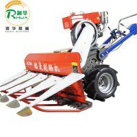 优质耐用山地小型水稻收割机 家用轻便式割晒机 链条传送收割机