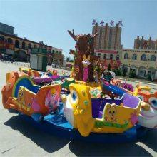 户外大型水陆战车游乐场设备熊出没儿童广场喷球车公园轨道火车