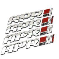大众高尔夫6尚酷R20车贴 APR程序改装阶段金属车标 车尾标