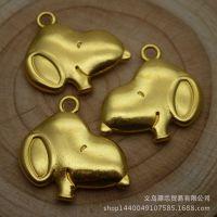合金饰品配件 19*18mm  狗 动物挂件 动漫人物 礼品挂件 11673