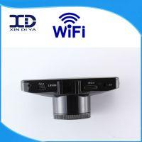 厂家直销 大货车记录仪高清夜视双镜头行车记录仪WIFI  W100D
