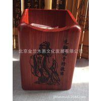 红木笔筒 木质笔筒 实木笔筒 木笔筒 雕刻笔筒  厂家直供