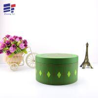 厂家直销绿茶叶纸板桶包装彩盒 高档天地盖圆纸筒礼品包装盒定制
