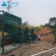 斗轮洗沙机在广东施工现场 斗轮洗沙机配合细砂回收机好用