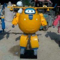 卡通动漫超级小飞侠树脂电影人物模型商场幼儿园装饰品玻璃钢摆件
