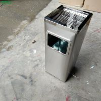 青蓝供应售楼处垃圾筒 办公楼果壳箱 商场保洁桶 材质、颜色均可定制