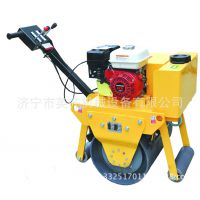 河南手扶压路机英齐机械YQYL-700 手扶单轮压路机 钢轮宽700mm