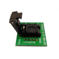 DFN8(6*8)-1.27翻盖探针芯片测试座