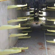 青岛电缆沟支架价格 电缆沟电缆支架厂家供货新闻 玻璃钢电缆支架