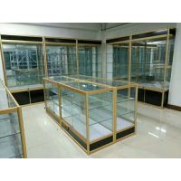 添旺货架钛合金精品玻璃展柜汽车坐垫展示架组装化妆品定制