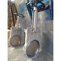 PZ73X-10P DN150不锈钢插板式刀型闸阀