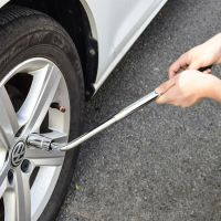 汽车维修工具拆卸换轮胎扳手伸缩套筒扳手实心省力