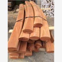贵州红梢木直栏杆定做 红梢木雕花价格