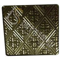 304不锈钢板 青古铜花纹图片【高端会所金属装饰板】冲压加工中心 太钢不锈