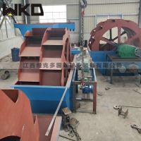 江西赣州生产洗砂机设备整套轮斗式洗砂机生产线多少钱螺旋洗砂机生产厂家