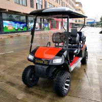 厂家直销AS-004正两排4人座充电8-10小时高尔夫球场专用车辆
