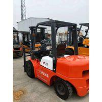 供应二手叉车二手合力k30柴油叉车 3吨2节3米