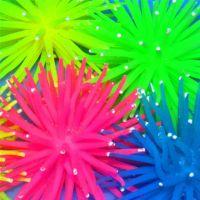 鱼缸用品摆景/活海胆/水族装饰品/炫彩珊瑚/软体珊瑚/仿真海胆球