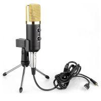 USB电容录音麦克风 有线电广播聊天唱歌 USB麦克风  3.5MM麦克风