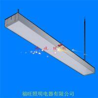 LED吊线现代办公照明铝材灯Office lightingT8铝材吊线灯
