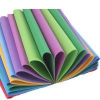 彩色泡沫纸10色海绵纸 智慧树手工材料纸 折纸 剪纸 10张/包