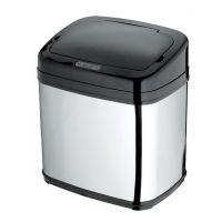 尚莱仕商务场所30L黑色方形不锈钢智能感应垃圾桶