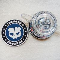 工厂定做pvc杯垫 软胶杯垫 促销礼品杯垫 来图定制USB保温杯垫