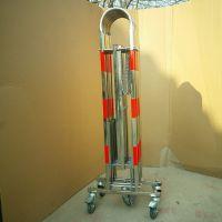 安全不锈钢拱门式伸缩护栏 移动安全围网 拱门型伸缩护栏生产