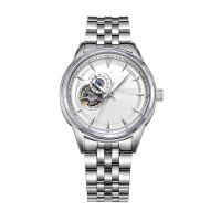手表工厂OEM定制时尚机械男表 全自动机械表不锈钢手表带防水表