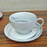 咖啡杯套装创意欧式家用陶瓷下午茶茶具杯碟套装色釉牛奶杯早餐杯