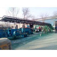 皮带输送机架防油耐腐 水平式胶带运输机