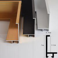 5CM厚铝线材铝合金相框画框型材线条批发海报写真照片框证书框出口定制F0850