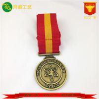 金属奖牌定做奖杯制作徽章幼儿园学校运动会比赛通用型金银铜牌