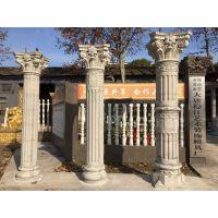 优质加厚罗马柱模具,窗套模具,檐线模具,现浇花瓶围栏预制,山花,中式凉亭