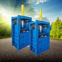 驰航钢丝球压包机 供应油桶专用压扁机 矿泉水瓶易拉罐压块机厂家