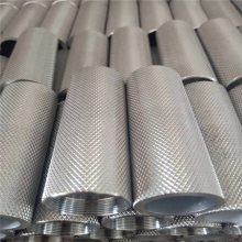 东莞铝管 AL6063环保铝合金管 拉花,滚花折弯异形铝管材