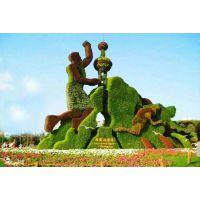 贵州仿真植物绿雕造型雕塑厂家,定制仿真菊花展造型