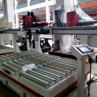 裁板机光电控制液压升降堆垛自动推板上板机