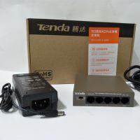 腾达TEF1105P-4-63W 5口百兆4路POE交换机网络监控无线AP超远程供