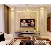 厂家热销高档罗马柱背景墙 优质简约电视背景墙 品种多样