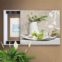 电表箱装饰画配电箱可推拉遮挡壁画客厅挂画总开关弱电源箱电闸盒