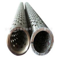 河北安平单针冲孔螺旋焊接滤管   机械设备骨架滤芯