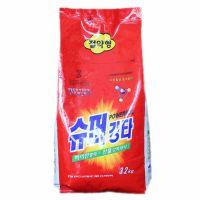 韩国原装进口SM.soapland洗衣粉加酶无添加剂3.2kg 现货批发