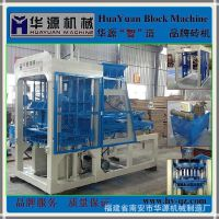 泉州QT4-15全自动混凝土砌块制砖机 优质免烧液压砖机 水泥生产线