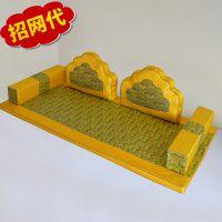 原创中国风红木家具罗汉床垫子 沙发扶手垫定做 椅子折叠垫子定制